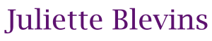Home page of Juliette Blevins